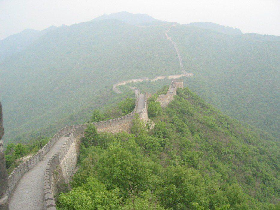 Великая Китайская стена где находится на карте