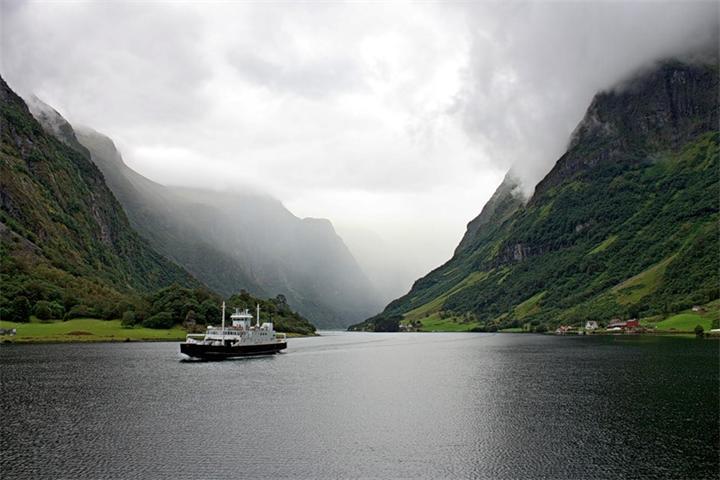 Неройфьорд Норвегия