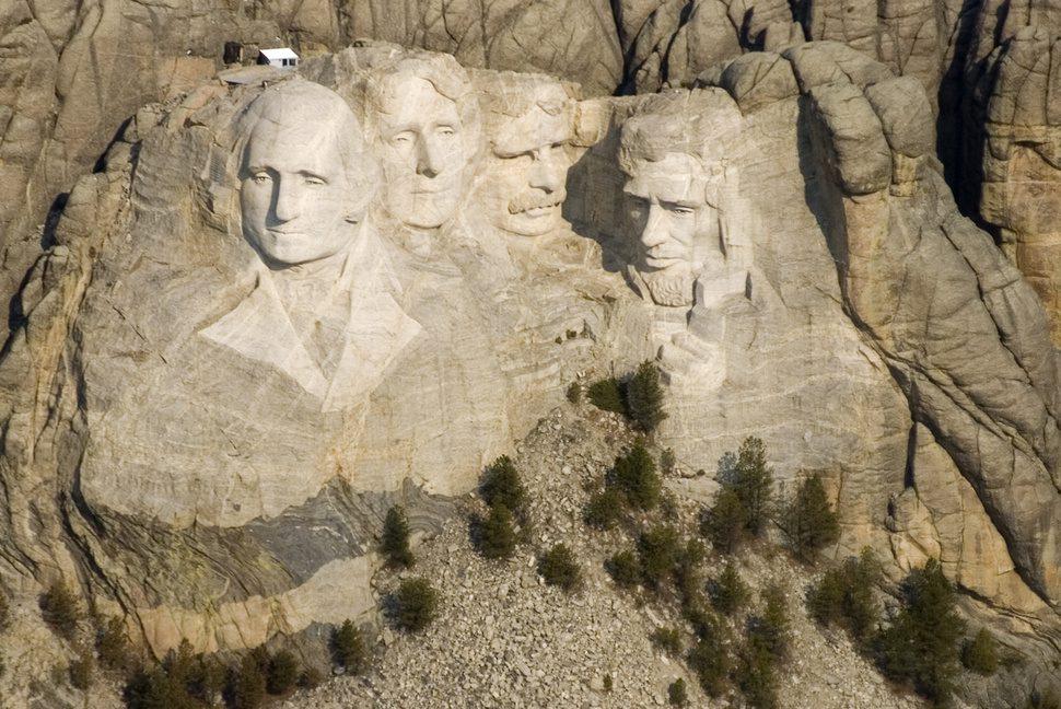 гора Рашмор президенты