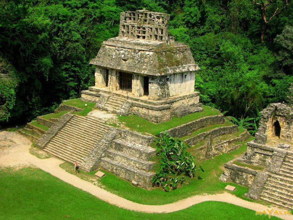 паленке пирамиды