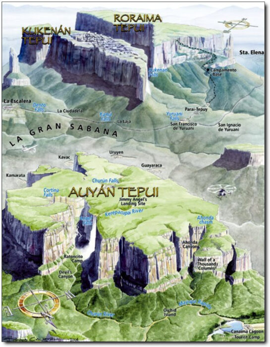 рорайма карта