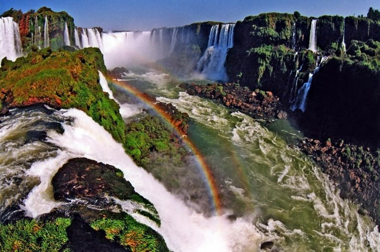 водопад Игуасу виды