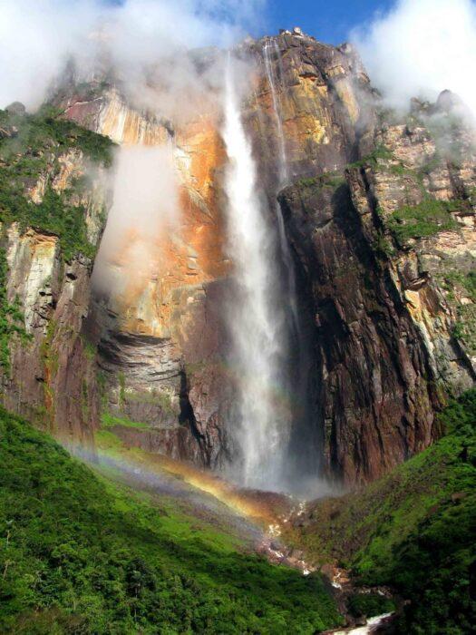 Анхель водопад тепуя