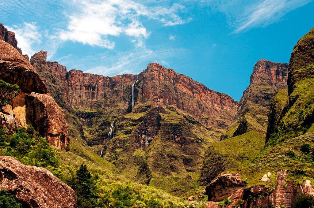 водопад Тугела фото