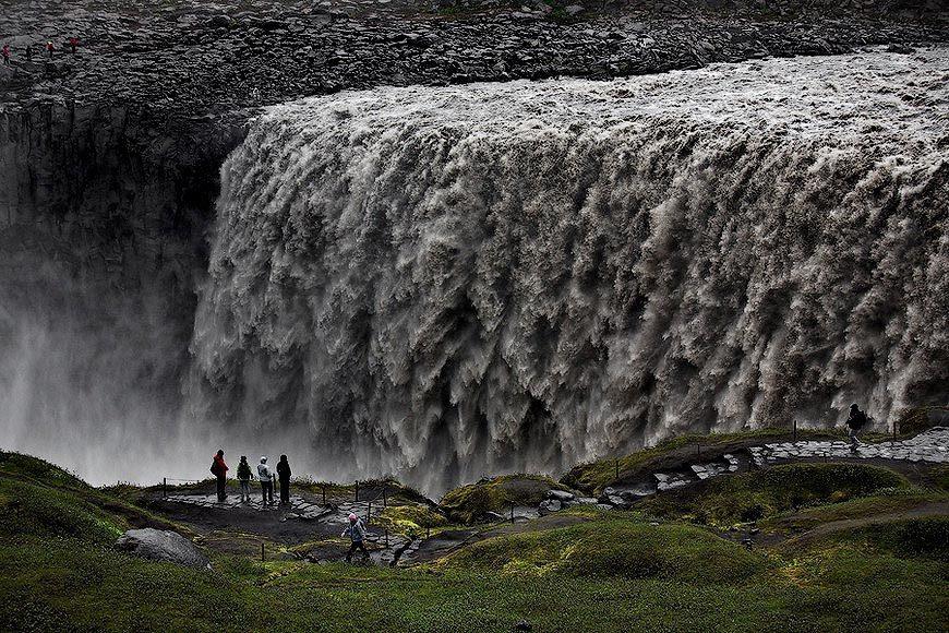 Деттифосс водопад фото
