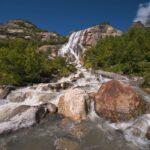 Алибекский водопад — наш современник (5 фото)