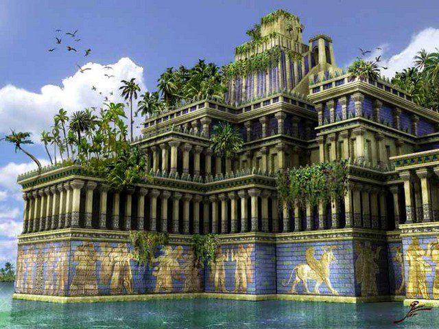 висячие сады Семирамиды интересные факты