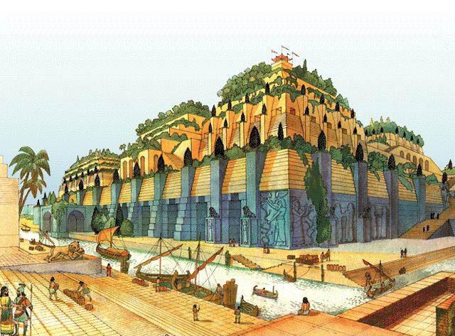 висячие сады Семирамиды факты