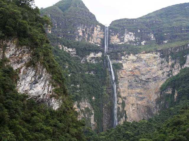 водопад Гокта в Перу