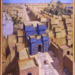 Ворота богини Иштар в Вавилоне