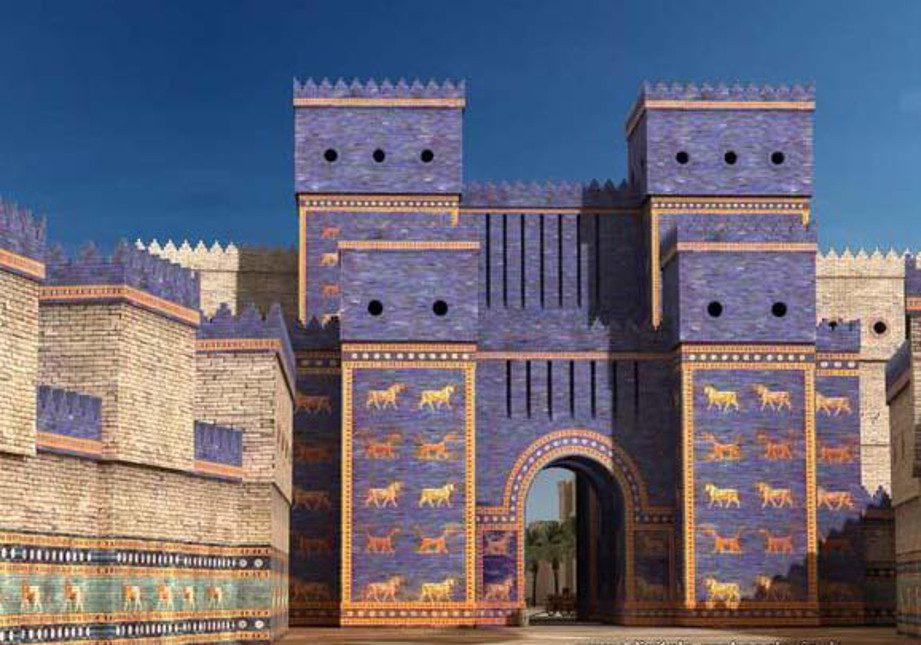 ворота иштар фото