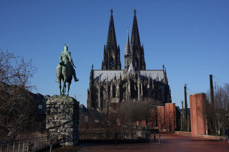 Кельнский собор фото