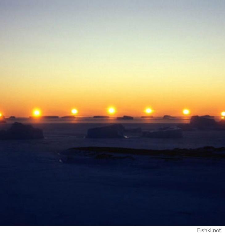 паргелий ложное солнце