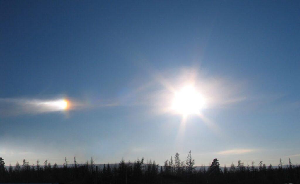 паргелий солнце