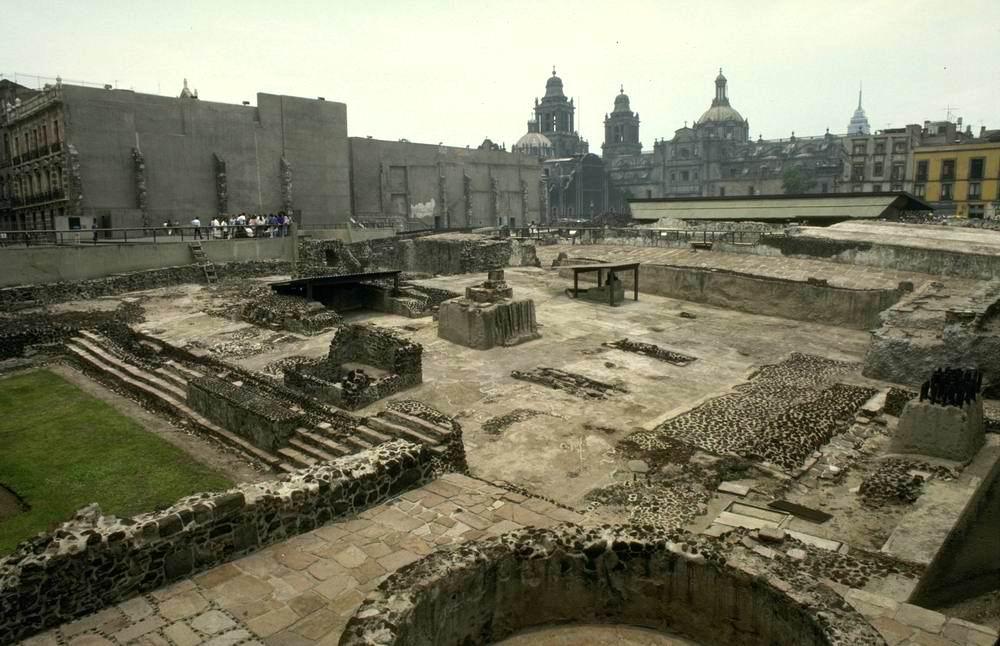 теночтитлан город ацтеков