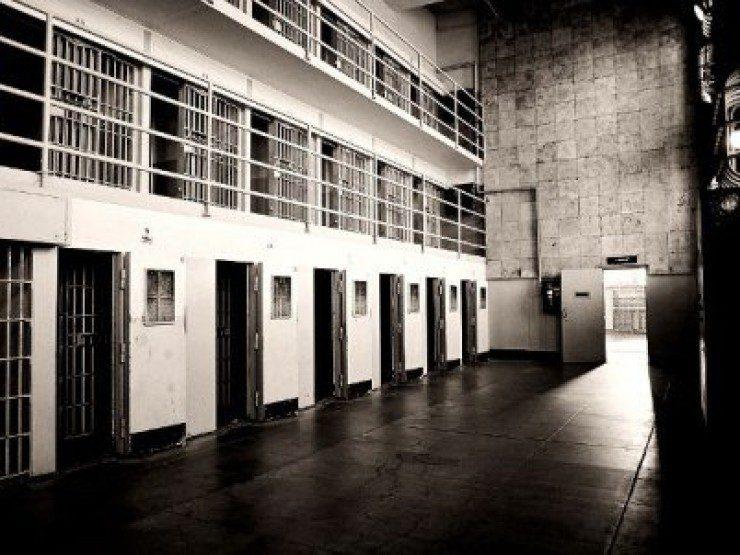 тюрьма алькатрас внутри