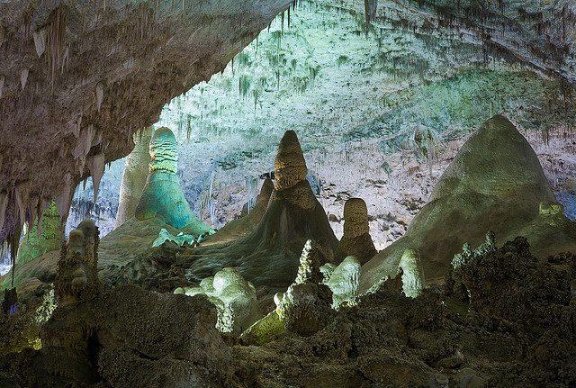 Карлсбадские пещеры Нью-Мексико