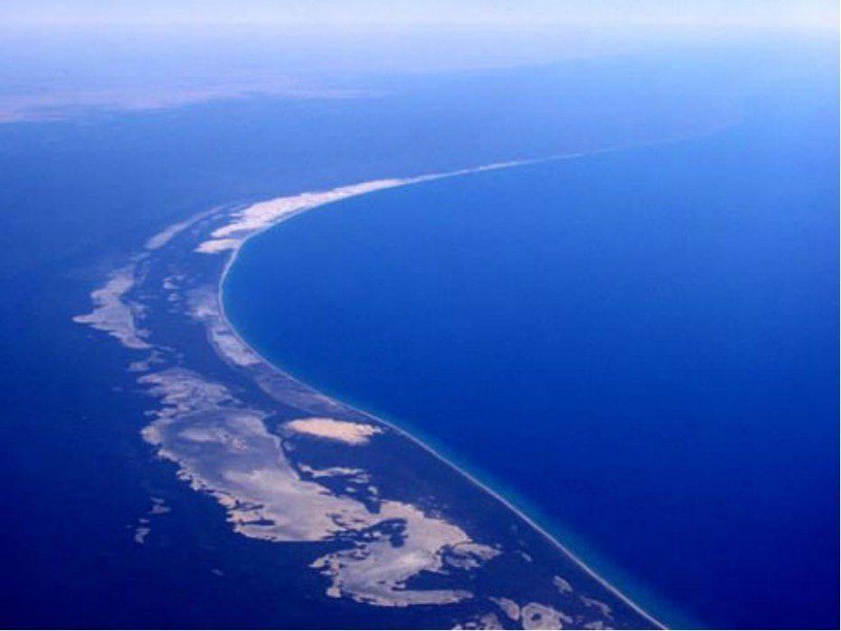 Большой Барьерный риф сверху