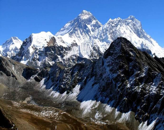 Джомолунгма гора