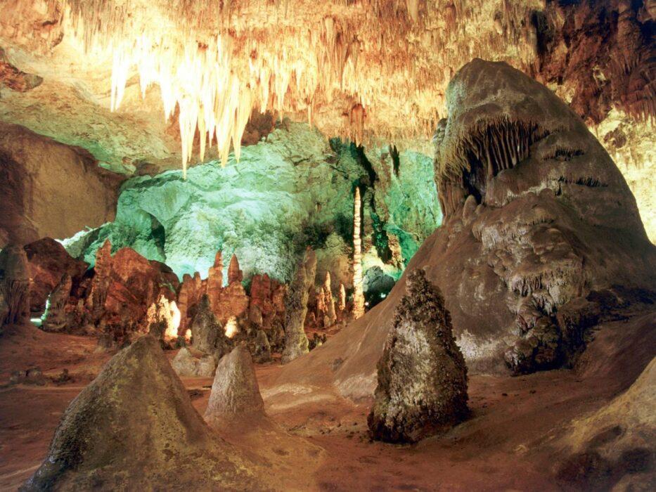 Карлсбадские пещеры фото