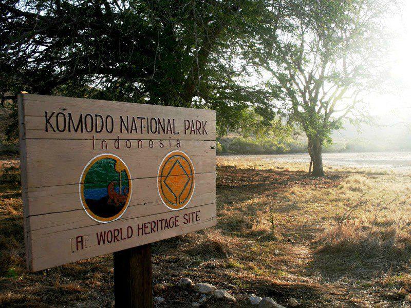 Национальный парк комодо фото