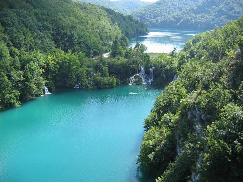 Плитвицкие озёра Хорватия фото