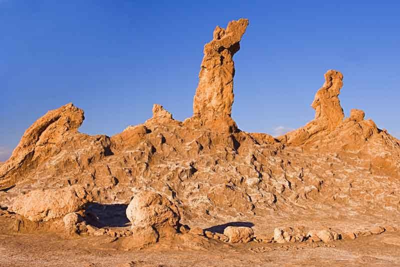 Пустыня Атакама горы