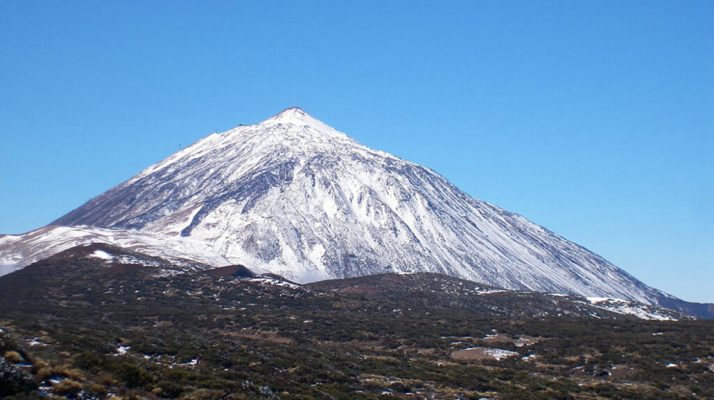 вулкан тейде на фото
