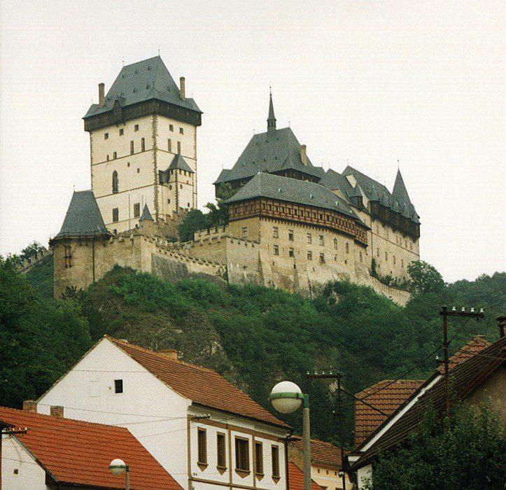 замок Карлштейн фото