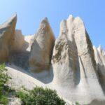 Кутхины Баты — белые скалы Камчатки