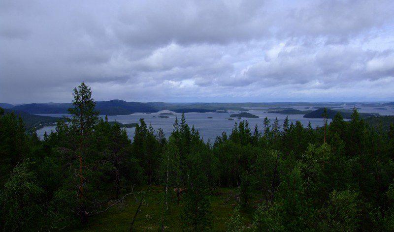 озеро Инари фото
