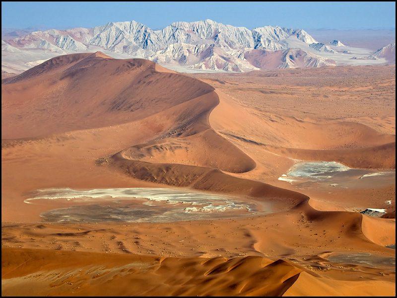 пустыня Намиб Африка фото