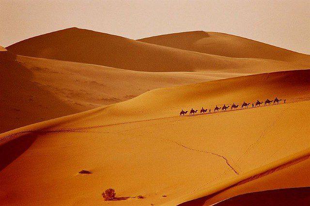 пустыня Такла-Макан Китай