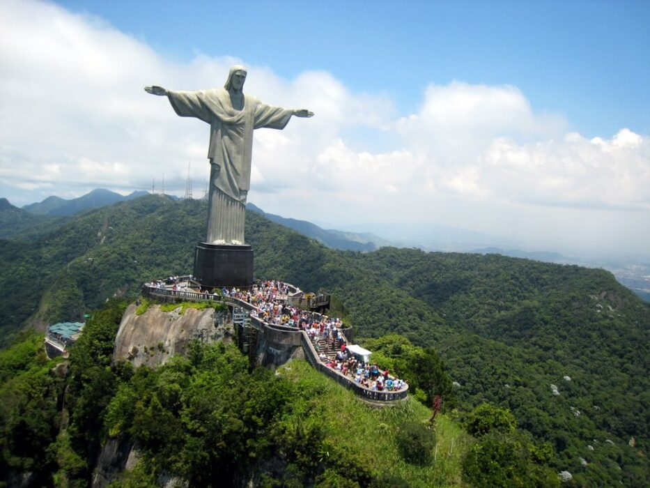 статуя Христа-Искупителя в Рио де Жанейро