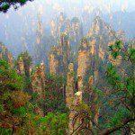 Скалы Улинъюань — удивительная панорама гор Китая