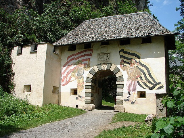 замок Гохостервитц Каринтия