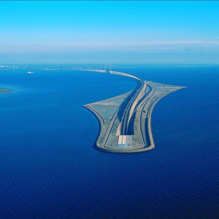 Эресуннский мост Мальме