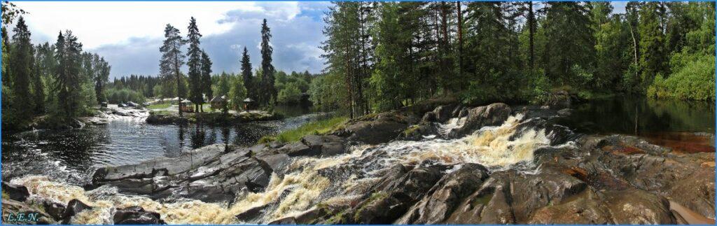 водопад ахвенкоски фото