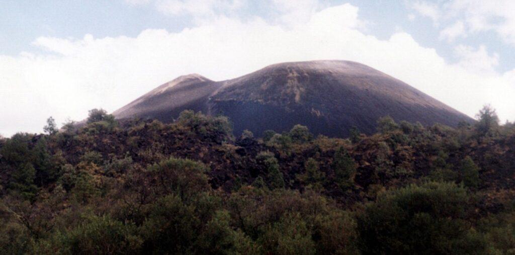 вулкан Парикутин Мексика