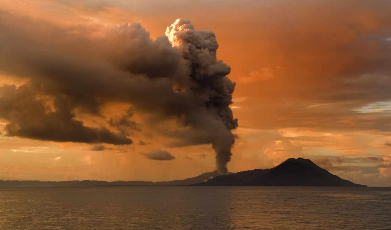 причины извержения вулкана