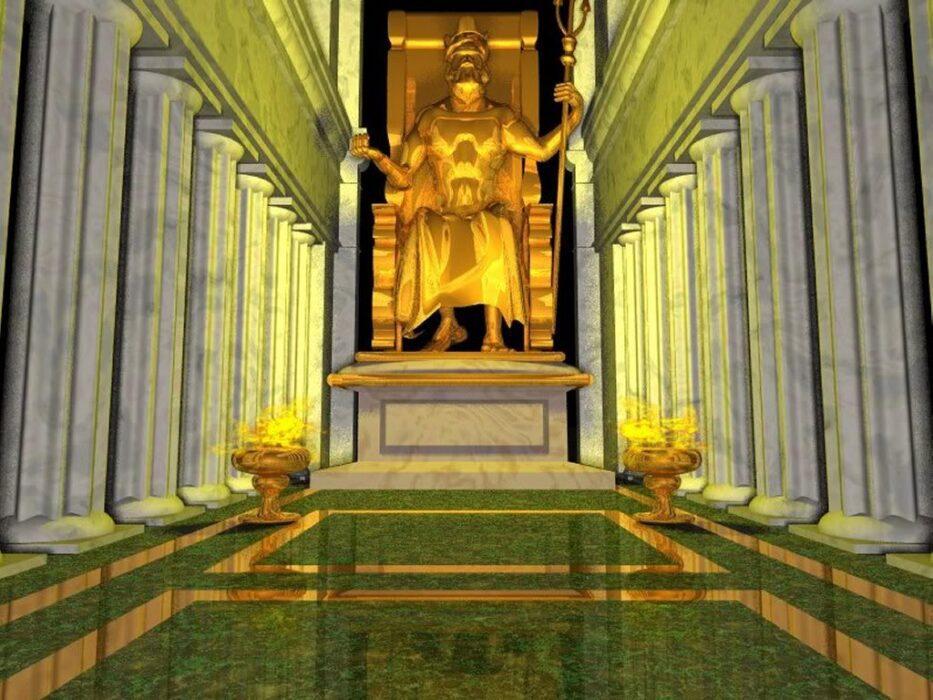 статуя Зевса фото