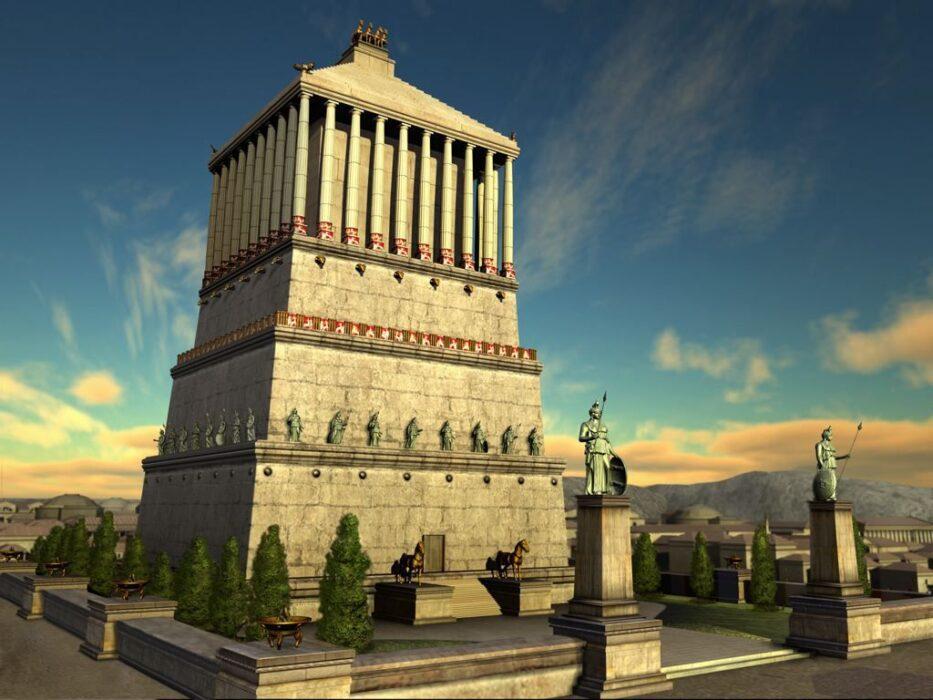 чудеса света Мавзолей в Галикарнасе