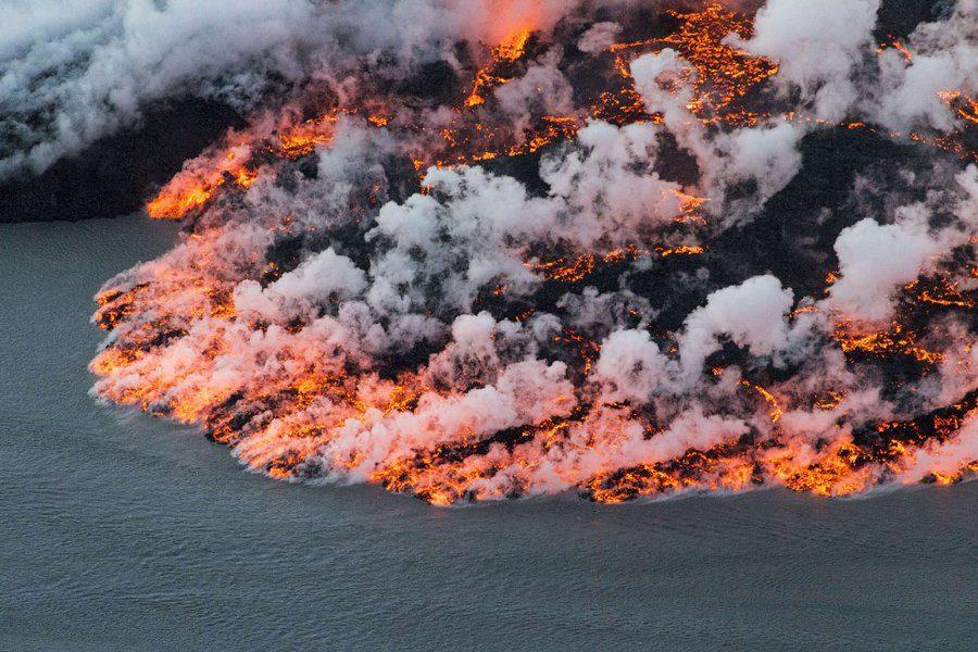 извержения вулканов фото