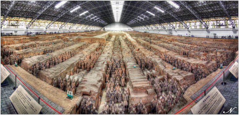 китайская терракотовая армия фото