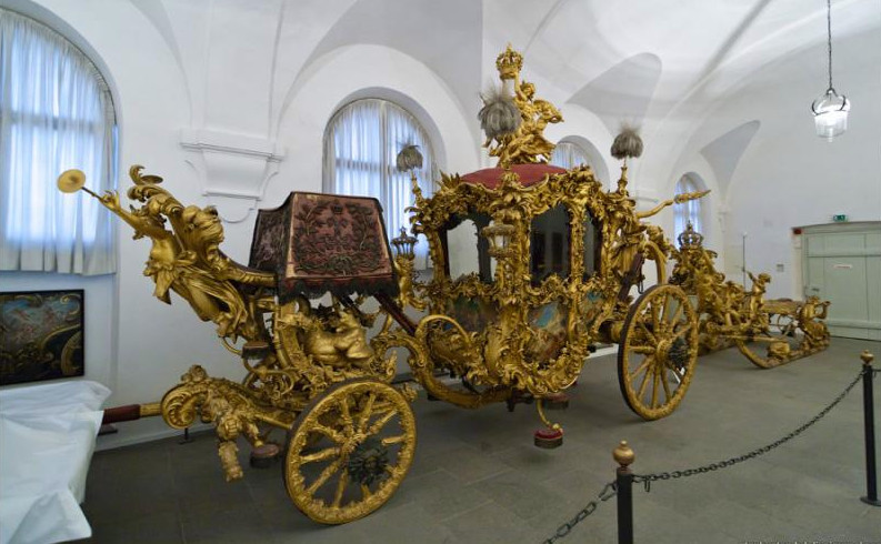 музей экипажей Нимфенбург