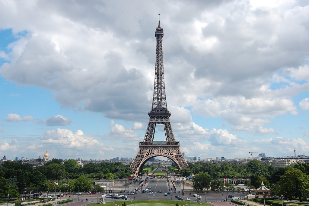 Эйфелева башня фото и факты