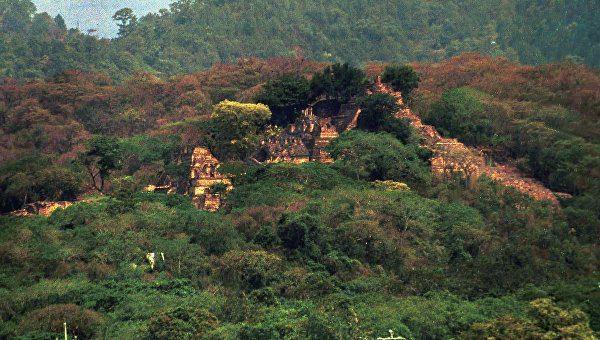 затерянный город майя