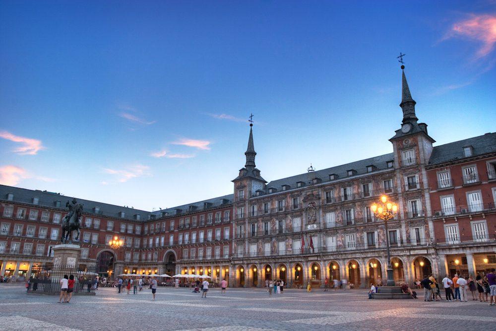достопримечательности Мадрида фото