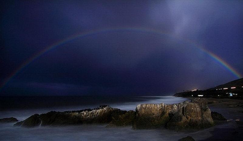 лунная радуга явление природы