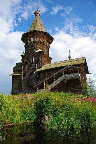 Кондопожская Успенская церковь